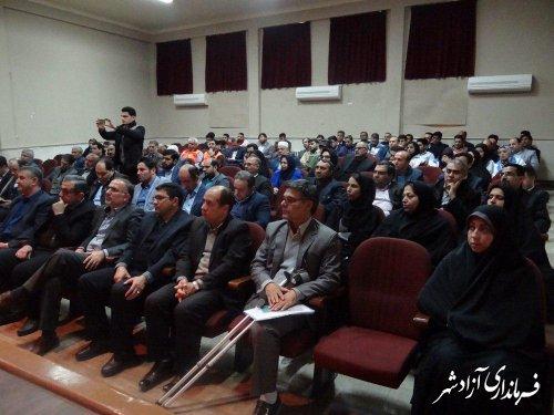 کارگاه آموشی حقوق شهروندی در شهرستان آزادشهر برگزار شد