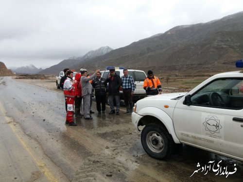 جاده آزادشهر به شاهرود در محدوده استان گلستان باز می باشد