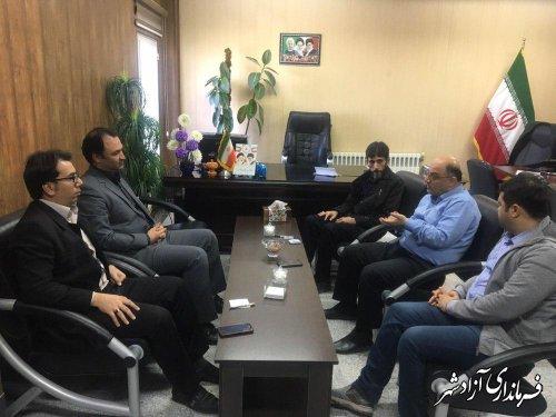 شورای مشاورین فرمانداری شهرستان آزادشهر تشکیل شد