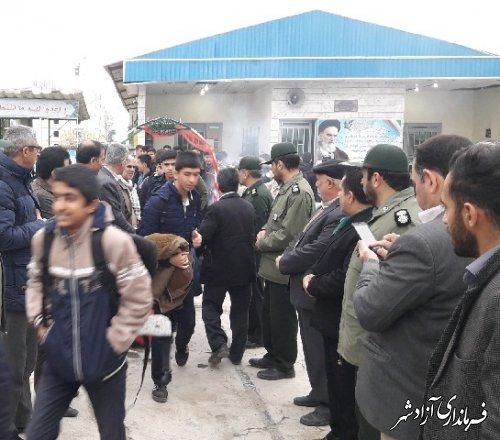 اعزام بیش از ۸۰ دانش آموز پسر متوسطه دوم آزادشهر در قالب کاروان راهیان نور به مناطق عملیاتی جنوب کشور