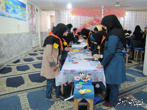 برگزاری جشنواره نقاشی در مدارس شهرستان آزادشهر