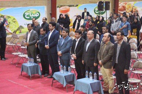 جشن ویزه ولادت حضرت زهرا (س) با محوریت خانواده ایرانی، عفاف و نشاط اجتماعی در آزادشهر برگزار شد