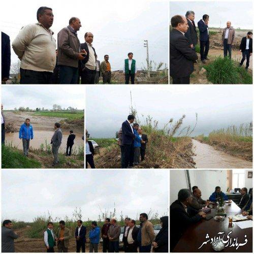 خسارت 73 میلیارد ریالی سیلاب به رودخانه ها و مسیل های شهرستان آزادشهر