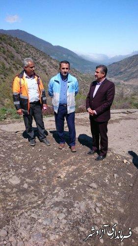 محور مواصلاتی روستای نرگس چال از توابع بخش چشمه سارن آزادشهر تا هفته آینده اصلاح و مرمت می شود