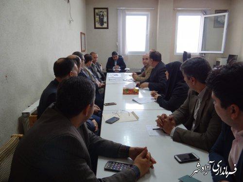 برگزاری جلسه نشاط اجتماعی با رویکرد مقابله با آسیب های اجتماعی در آزادشهر