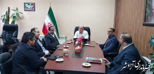 ار فعالیت قانونی احزاب و تشکل های سیاسی و اجتماعی در شهرستان آزادشهر حمایت خواهد شد