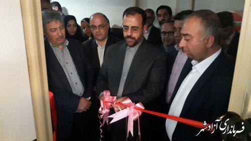 بخش ICU بیمارستان حضرت معصومه (س) شهرستان آزادشهر افتتاح شد