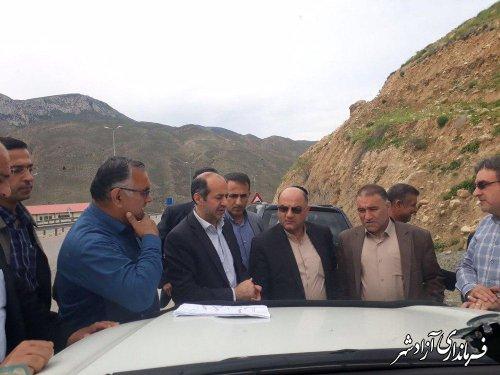 مشکلات گازرسانی به بخش چشمه ساران شهرستان آزادشهر بررسی شد