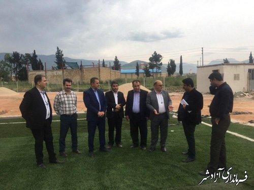 واریز اعتبار تکمیل استادیوم ورزشی سردار شهید پاکروان شهرستان آزادشهر
