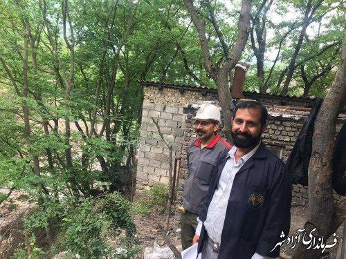 بازدید معاون سیاسی و امنیتی فرمانداری شهرستان آزادشهر از معدن زمستان یورت