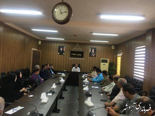 شهرستان آزادشهر حضوری مقتدرانه در المپیاد ورزشی استان در تیرماه خواهد داشت