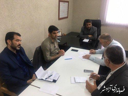 جلسه کمیسیون مبارزه با سرقت شهرستان آزادشهر برگزار شد