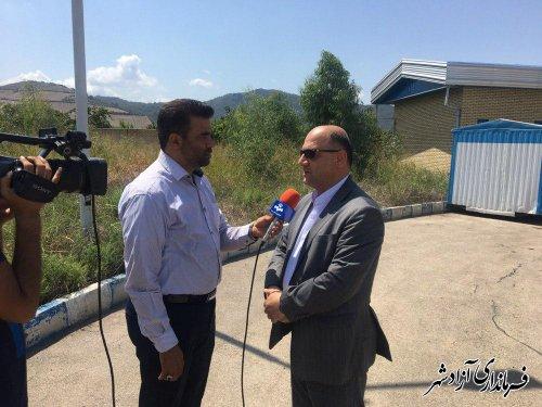 یک هزار تن کلزا از کشاورزان در شهرستان آزادشهر خریداری شد