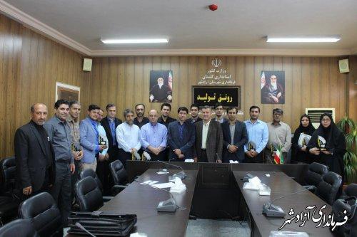 برگزاری همایش تجلیل از روابط عمومی های برتر شهرستان آزادشهر
