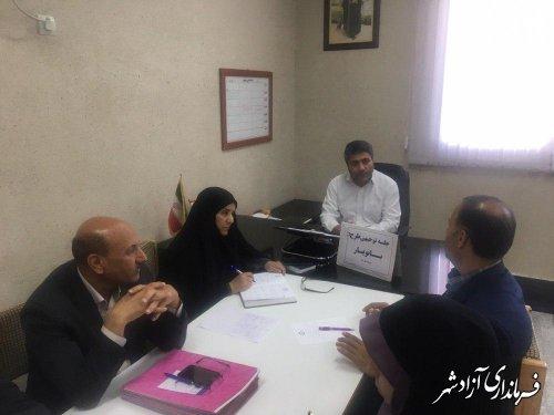 طرح بانویار با هماهنگی دستگاه های وظیفه مند در شهرستان آزادشهر اجرا می شود