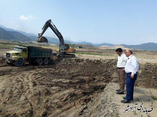 لایروبی آب بندان های شهرستان آزادشهر طبق برنامه ریزی مدون در حال اجرا می باشد