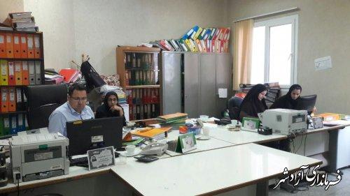بازرسی از عملکرد مالی و عمرانی دهیاریهای بخش مرکزی آزادشهر
