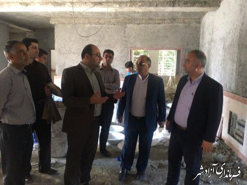 مدرسه 6 کلاسه شهر نوده خاندوز مهرماه امسال افتتاح و به بهره برداری می رسد