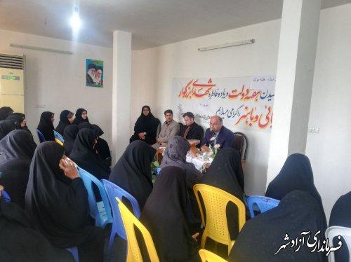 حضور فرماندار شهرستان آزادشهر در جمع مددجویان کمیته امداد امام خمینی (ره)