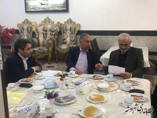 مشکلات و نیازمندی های حوزه قضایی شهرستان آزادشهر بررسی و پیگیری شد