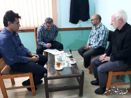 هماندیشی اجرای برنامههای هفتهی دفاع مقدس مدیریت جهادکشاورزی آزادشهر