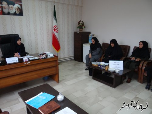 برگزاری دومین جلسه اتاق فکر فرهنگی شهرستان آزادشهر