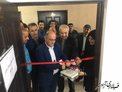 افتتاح مرکز ثابت انتقال خون در شهرستان آزادشهر