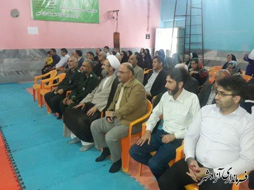 بازدید فرماندار و امام جمعه از سالن های ورزشی و باشگاه های فعال در آزادشهر