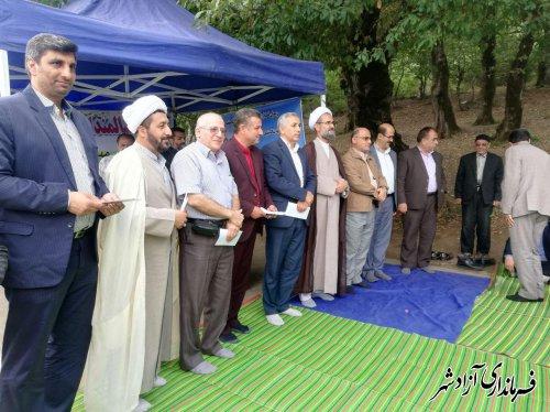 مراسم تجلیل از سالمندان شهرستان آزادشهر برگزار شد