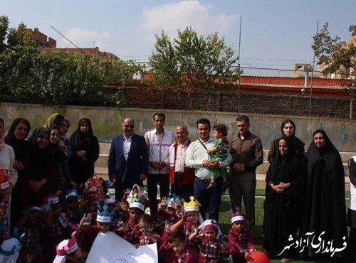 جشن ویژه روز جهانی کودک در شهرستان آزادشهر برگزار شد