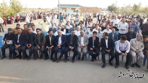 مراسم ویژه روز ملی روستا و عشایر در شهرستان آزادشهر برگزار شد