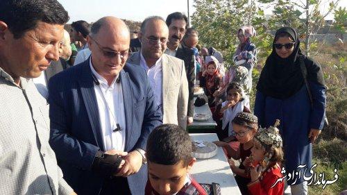 آیین رونمایی از غذاهایی بومی و محلی بخش مرکزی شهرستان آزادشهر برگزار شد