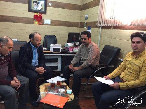 تقدیم احکام انجمن های میراث فرهنگی روستای نظرچاقلی شهرستان آزادشهر