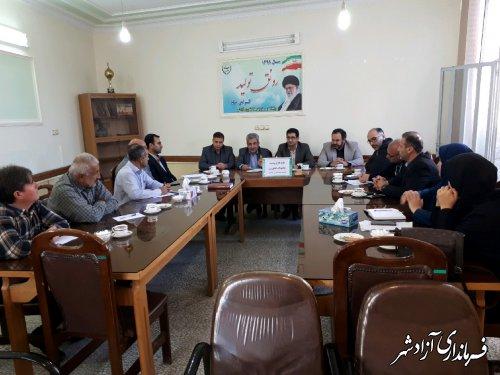 برگزاری جلسه کارگروه بیمه محصولات کشاورزی
