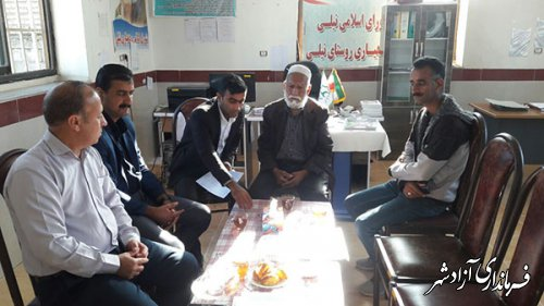 تقدیم احکام انجمن های میراث فرهنگی روستای نیلی شهرستان آزادشهر