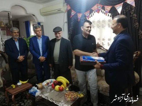 دیدار مدیر آموزش و پرورش آزادشهر با بازنشستگان فرهنگی این شهرستان