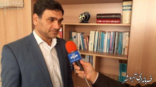 مصاحبه خبری رئیس اداره انجمن اولیا و مربیان آموزش و پرورش گلستان