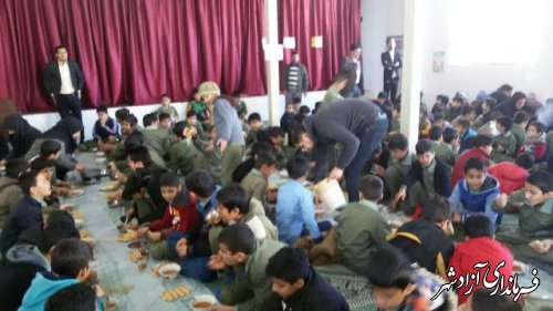 اجرای طرح صبحانه سالم در مدارس شهرستان آزادشهر