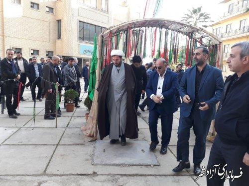 برگزاری نمایشگاه ویژه افتخارات دوران دفاع مقدس در دانشگاه آزاد اسلامی واحد آزادشهر