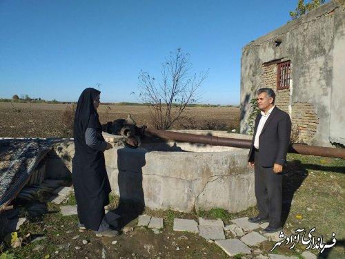 پیگیری و نظارت بر اجرای طرح های خط انتقال آب توسط جهادکشاورزی آزادشهر