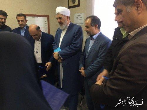 شهرستان آزادشهر آماده برگزاری انتخاباتی پرشور، رقابتی و با رعایت همه الزامات قانونی است
