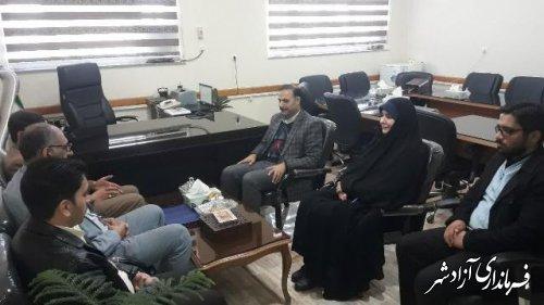 نشست مسئولین کمیته امدادامام(ره) آزادشهر با مسئولین آموزش و پرورش این شهرستان