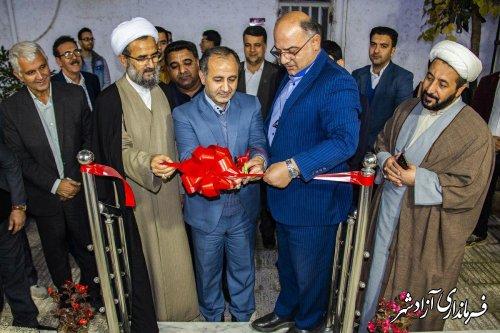 افتتاح یک آزمایشگاه مجهز با اعتبار 1/5 میلیارد تومان در شهرستان آزادشهر