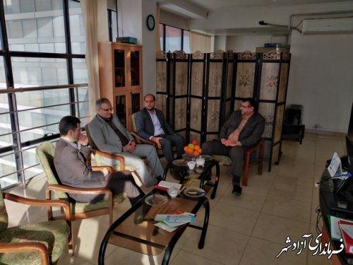 بازدید مدیر کل محترم ثبت احوال استان گلستان از ادازه ثبت احوال آزادشهر