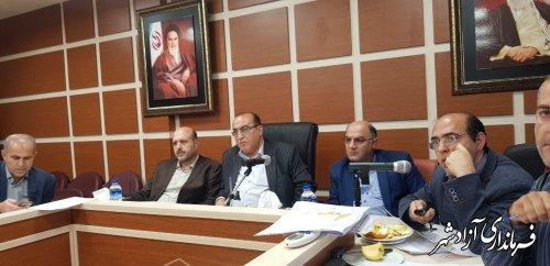 کمیسیون بررسی طرح های هادی استان با محوریت شهرستان آزادشهر برگزار شد
