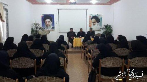 گردهمایی مربیان پیش دبستانی شهرستان آزادشهر