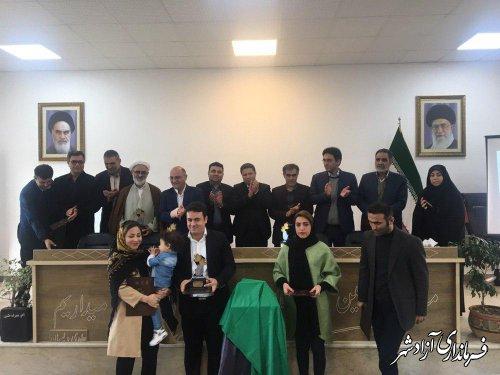 اولین جشنواره عکس زعفران وامنان در شهرستان آزادشهر برگزار شد