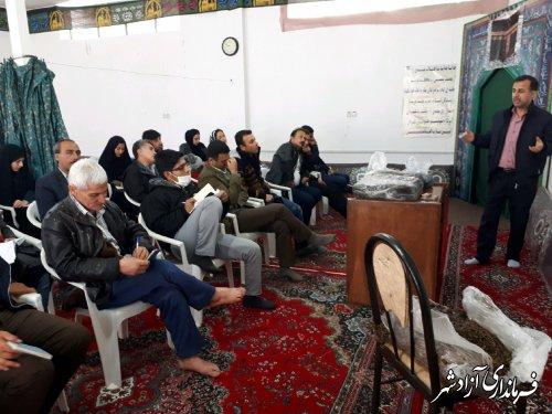 برگزاری کلاس آموزشی پرورش قارچ خوراکی در مدیریت جهادکشاورزی آزادشهر