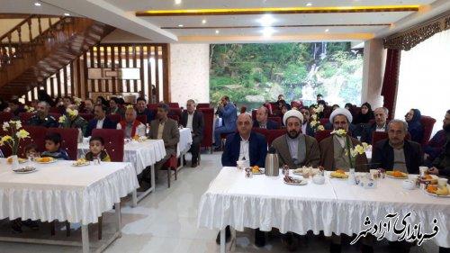 از حامیان ایتام و مستمندان در شهرستان آزادشهر تجلیل و قدردانی شد