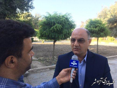 غرس 1167 نهال در آزادشهر به یاد شهدا، جانبازان و ایثارگران این شهرستان